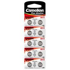 200 Piles boutons CAMELION AG13 LR44 A76 357 GP86A SR44W - envoi en lettre suivi