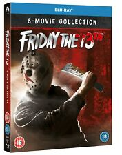 Friday the 13th: Parts 1-8 (Box Set) [Blu-ray]