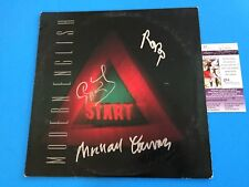 "Modern English Start Signed Auto 12"" Vinyl Record Album JSA COA"