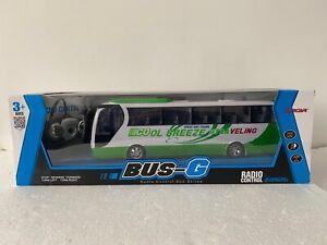 New Big Bus R/C Radio Remote Control LED Bus Music & Lights Dynamic Bus Speed