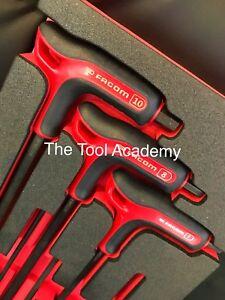 Facom Tools Foam Module 3mm - 10mm Hex Allen Key Set Power Handle T-Handle
