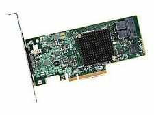 LSI Logic Lsi00344 9300-8i SGL SAS 8port 12gb/s Pcie3.0 HBA Controller Card Brow