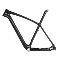"29er 21"" Carbon MTB Frame Seatpost BB30 12k Glossy Mountain Bike ISP Internal"