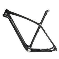 "29er 21"" Carbon MTB Frame Seatpost BSA 3k Glossy Mountain Bike ISP Internal"