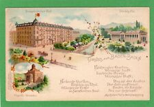 Gruss Aus Baden Baden Germany Franzosischer Hof Hotel de France pc Ref F410