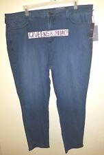 Nwt NYDJ Womens Plus Size 24W Stretch Blue Jeans Denim Legging Lift Tuck $124