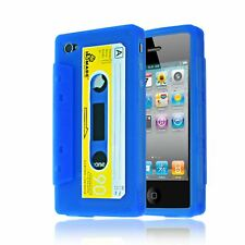 RETRO VINTAGE CASSETTE TAPE SOFT SILICONE IMPACT CASE FOR IPHONE 4 / 4S