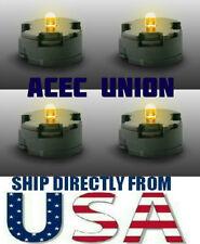 4 X High Quality MG 1/100 QANT Raiser Gundam YELLOW LED Lights U.S.A. SELLER