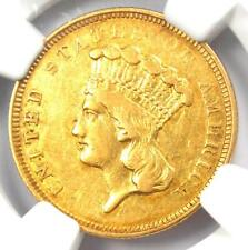 "1854-O Three Dollar Indian Gold Coin $3 - NGC XF Details (EF) - Rare ""O"" Mint!"
