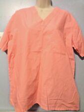 Nursing Medical MOBB Scrubs Set Womens Pants & Top Bright Pink Size Med