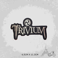 Trivium Music Band Patch Iron On Patch Sew On Embroidered Patch