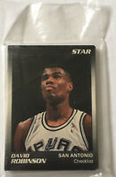 David Robinson 11 Card STAR Set Hall Of Famer San Antonio Spurs NBA Champion