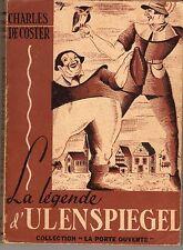 La legende d'ULENSPIEGEL/ De Coster Charles 1942