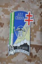 Z048 écusson patch insigne militaire 163ème Promotion Adjudant CHENE ENSOA