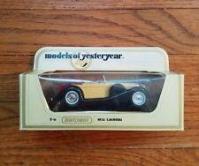 Matchbox 1:43 Scale Models Of Yesteryear 1938 LAGONDA (Y-11)