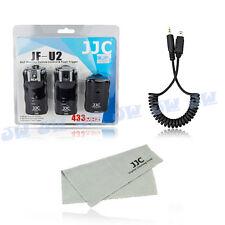 JJC 2X Wireless Flash Trigger Remote Shutter For Nikon D7200 D5500 D3300 D750 Df