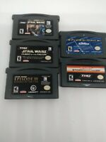 lot of 5 Gameboy Advance Games Tested And Working