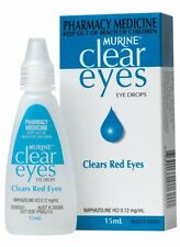 MURINE CLEAR EYES BLUE 15ML EYE DROPS - RED EYES - cheapest price! fast shipping