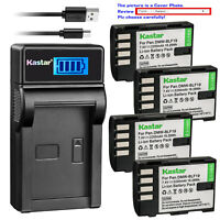 Kastar Battery LCD USB Charger for Panasonic DMW-BLF19 BLF19E & Lumix DMC-GH3A