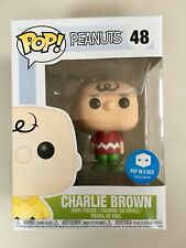 Funko POP Charlie Brown Red Christmas Jumper PIAB esclusivo