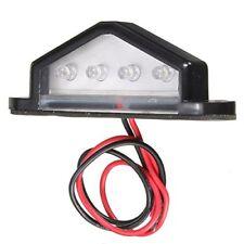 10-30V 4 LED Ampoule Lampe Feu de Plaque Lumiere Blanc Remorque Camion G8N5