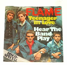 """Flame - 7"""" Single - Teenager in Love - Jupiter-Records 16 351 AT"""