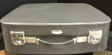 Vintage Revelation Grey Vinyl Suitcase