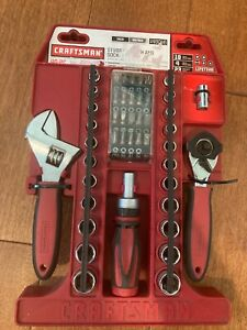 Craftsman 49046 46-piece Stubby Tool Wrench and Socket Set metric & SAE