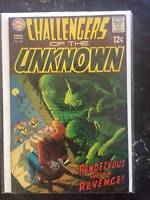 Challengers of The Unknown #66, Vol. 1, Silver-Age Comic Book,  VF, DC, 1969