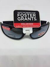 Herren Polarisierte Foster Grant Pitchblack Sonnenbrille Rrp £ 20.50