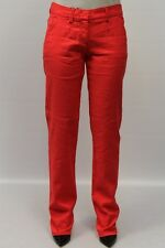 PANTALONE ARMANI JEANS DONNA PANTS WOMAN БРЮКИ, H5P04 GH ROSSO MIS.44 PP nv