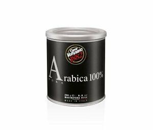 12 Lattine Caffè Vergnano 100% Arabica Macinatura Moka da 250 grammi , Tappo ORO