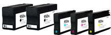 5 PACK 950 951 XL Ink Cartridges for HP Officejet Pro 8100 8600 Printers