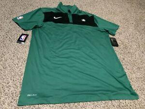 Nike Dri-Fit NBA Boston Celtics Green/Black Polo Men's Size: XL-Tall NWT