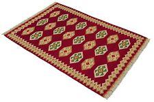 Original Ghashghai Nomaden Kelim 150 x 100 Perser Teppich Läufer Flachgewebe