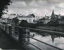 VIRE c. 1950 - Maisons le long de La Vire Calvados - Div 5497