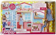 Original Barbie 2-Story House and Doll, Cute Barbie Dollhouse