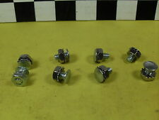 NOS SCHWINN FENDER RIVETS / BOLT NUTS FENDER STRUTS Old Bicycles,Harley