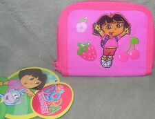 NEW DORA THE EXPLORER  WALLET COIN PURSE WITH MULTIPLE SLOTS
