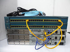 Cisco CCENT CCNA Lab 2600XM 32/128 12.4 IOS Fastethernet 200-120 100-101 200-101