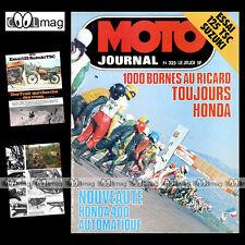 MOTO JOURNAL N°325 TRIAL HUBERT AURIOL CHARLES COUTARD SUZUKI 125 TSC '77