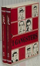 2v Enciclopedia I GANGSTER - personaggi crimine malavita AL CAPONE LUCKY LUCIANO