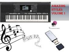 PSR S950 S970 USB-Stick+AMAZING STYLES volume 1