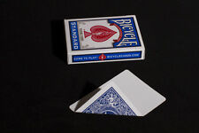 BLUE BACK & BLANK Bicycle Deck 56 Gaff Playing Cards USPCC Magic Trick sleight