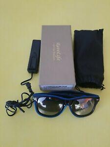 RaveLife El Wire Multicolored Glasses Light Up Clear Wayfarer.