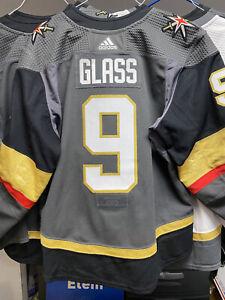2019-19 CODY GLASS Game Worn Used JERSEY VGK VEGAS GOLDEN KNIGHTS Meigray Repair