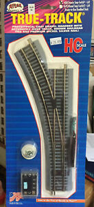 Atlas 480 HO Scale Code 83 True-Track Left  Hand Remote Turnout