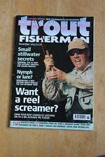Trout Fisherman Magazine November 2003