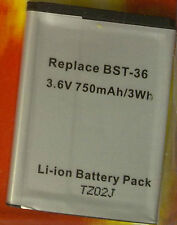 Up HM 2886 LS Li-ion 3,6 750mah bst-36 Batteria per Sony-Ericsson k300/310/510/z550