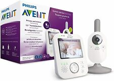 Philips AVENT SCD843/26 - Vigilabebés con vídeo (pantalla a color de 3,5 pulgada